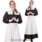 CL511 Pilgrim Colonial Women Thanksgiving Fancy Dress Historical Pioneer Costume