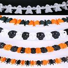 5 Styles Horror Ghouls Spook Spider String Halloween Decorations Paper Garland