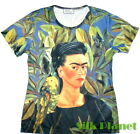 Frida Mexican Self Portrait Bonito Arte Camiseta T Shirt FINE ART PRINT TOP