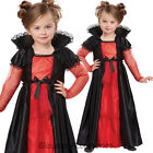 CK533 Vampire Girls Toddler Dracula Twilight Halloween Fancy Dress Up Costume