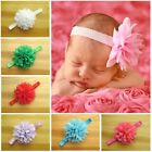 Girls Baby Newborn Chiffon Flower Toddler Hair Band Headbands Headwear 16
