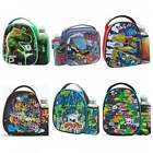 Smash Boys Junior Lunch Bag and Bottle Set - Kids School Lunchbox Box - NEW GIFT