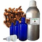 CLOVE BUD ESSENTIAL OIL 100% Pure Natural Therapeutic Undiluted 5ml to 250ml