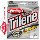 Berkley Trilene Sensation Mono Fishing Line 330yds (CLEAR) monofilament