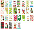 2 packs of Paper Pocket Novelty Christmas Tissues many designs  stocking fillers