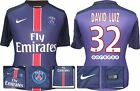 *15 / 16 - NIKE ; PSG HOME SHIRT SS / DAVID LUIZ 32 = SIZE*