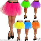 NEON TUTU  SKIRT 80'S FANCY DRESS petticoat PARTY