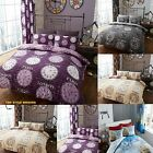 Duvet Quilt Cover Set With Pillowcase Single Double King Titanium Clock New year