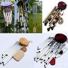 Amazing 4 Tubes 5 Bells Bronze Yard Garden Outdoor Living Wind Chimes 27/6 Tubes