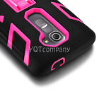 Rugged Armor Hybrid Case Stand Hard Shockproof Cover Skin For LG Leon 4G LTE C40
