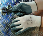 BodyGuards 150 Grey Nitrile Palm Coated Nylon Gloves S M L XL
