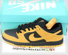 Nike Dunk Low Pro SB Iowa Gold Yellow Black 304292-706 US 8~11 Skateboarding