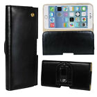 Real Genuine Leather Belt Clip Holster Holder Case Cover For iPhone 6 6 Plus