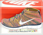 Nike Free Flyknt Chukka Yellow Pink White 639700-402 US 8~11 Fashion Casual