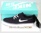 Nike SB Zoom Stefan Janoski CNVS PRM Black Canvas 705190-016 US 9~11 Casual 1 90