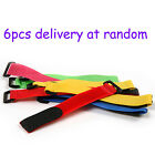 6x 20cm Velcro Tie Down Strap with Buckle for 4.7V 3S LiPo Battery RC helicopter