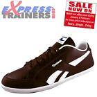 Reebok Mens Royal Transport Casual Classic Trainers Brown *AUTHENTIC*