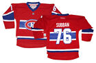 NWT Reebok PK Subban Montreal Canadiens NHL Youth Replica Home Jersey