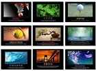 """9 Pcs x Poster Motivational Positive Quotes Inspirational Office Wall 20 30 36"""""""