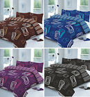 BLAKE PRINTED  DUVET SET QUILT COVER PILLOW CASES DOUBLE KING SIZE BEDDING SETS