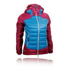 Berghaus Asgard Hybrid Down Womens Blue Purple Windproof Hooded Jacket Top
