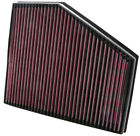 K&N Air Filter Element 33-2943 (Performance Replacement Panel Air Filter)
