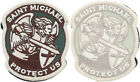 "Saint Michael Morale Velcro Patch, 3"" x 3.5"""