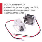 12V DC Tongue Lock Cabinet Door Drawer Electric Lock Assembly Solenoid Latch