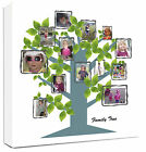 Family Tree Photo Collage Canvas Personalised - fantastic gift
