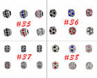 DIY 10/20/50/100pcs European Tibetan Silver Crystal Rhinestone Spacer Bead