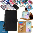 For Samsung Galaxy S1/S2/S3 Phones - Leather Wallet Card Stand Flip Case Cover