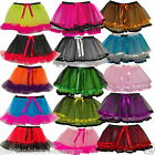 NEON TUTU SKIRT  80'S FANCY DRESS HALLOWEEN PARTY