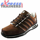 K Swiss Mens Rinzler Classic Casual Retro Trainers Bison Brown *AUTHENTIC*