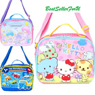Sanrio Insulated Thermal Tote Food Container Lunch Box Bento Shoulder Cooler Bag