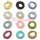 Various Round Faux Pearl Spacer Loose Beads Jewelry Finding Colorful DIY Gift