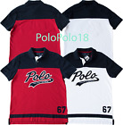 New Polo Ralph Lauren Big Crest Chevron Mesh Shirt Custom Pony S M L XL