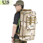 60L Outdoor Military Tactical Backpack Hiking Camping Pack Travel Shoulder Bag