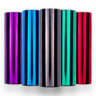 Mirror Chrome Vinyl Wrap Self Adhesive Silver Gold Black Red Blue Green Purple