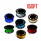 150FT 2 Wire LED Secure Light Christmas Decorative Party In/Outdoor Lighting 110V