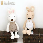 "Le Sucre with Dress 27.5"" Big Plush Doll Cushion Rabbit Toy Rag Genuine Rabbits"