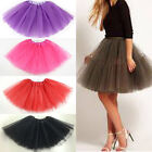 High Quality Women Party Costume Petticoat Princess Tulle Tutu Skirt Pettiskirt