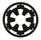 Empire Logo Decal / Sticker - Choose Color & Size - Star Wars Darth Sith $2.95 USD on eBay
