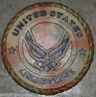 "U.S. AIRFORCE VETERAN Garden Stone (Camo)- NEW-11"" X 1""- Made in USA"