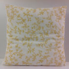 BRAND NEW SCATTER COVERS FRENCH STYLE CUSHION COVERS IKEA YELLOW WHITE FABRIC