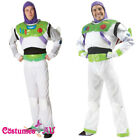 Mens Disney Delux Buzz Lightyear Costume Toy Story Fancy Dress Book Week Outfit