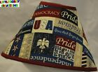 US PATRIOTIC AMERICAN PRIDE LAMP SHADE (By LBC) SHIPS WITHIN 48 HOURS!!!