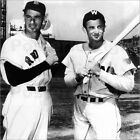 Poster / Leinwandbild Ted Williams und Mickey Vernon