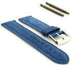 Suede Genuine Leather Watch Strap Band Teacher 18mm 19mm 20mm 22mm 24mm