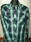New Mens Wrangler Pat Western Competition Campdrafting Performance Shirt