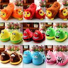 Soft Female Warm Cute Worm and Owl Cartoon Cotton Slippers